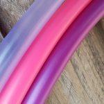 Polypro Hula Hoops Mauve Pink Purple