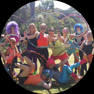 Hula hoop hens parties | Hoop Sparx