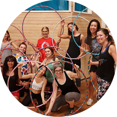 Hula Hoopers after a Hoop Sparx class in Melbourne