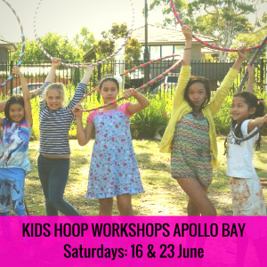 Kids Hula Hoop Class (Apollo Bay)
