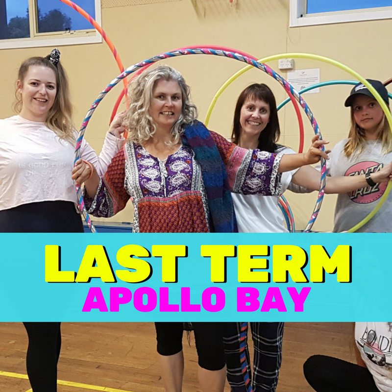 Hula Hoop Class (Teens/Adults) Apollo Bay