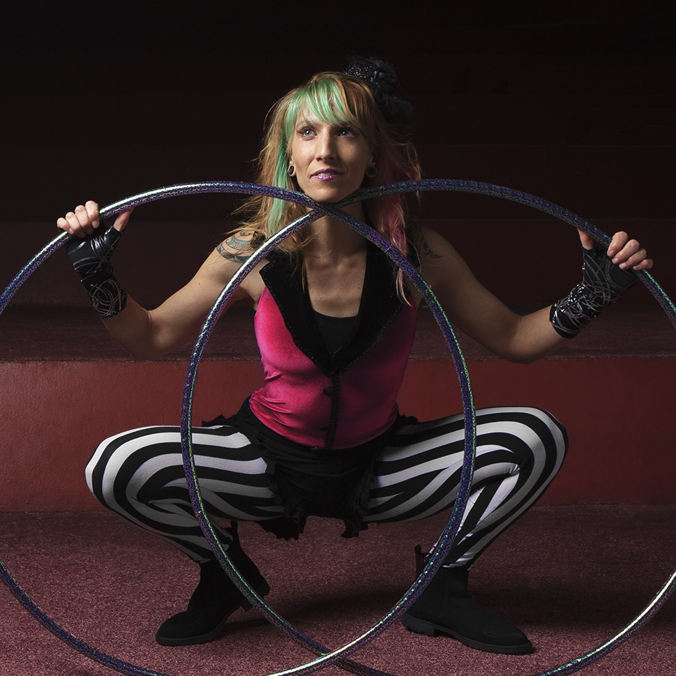 Donna Sparx - Hoop Away Retreat Instructor