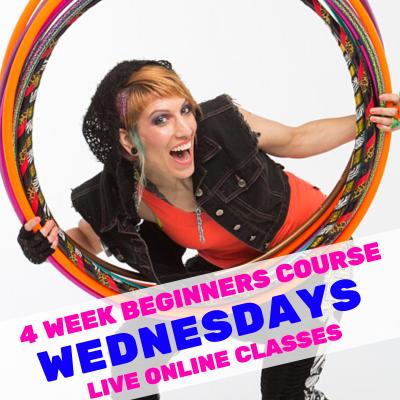LIVE ONLINE Hula Hoop Dance: Beginners Wednesday