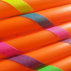 Orange HDPE Practise Hula Hoops - Buy Hula Hoop from Hoop Sparx