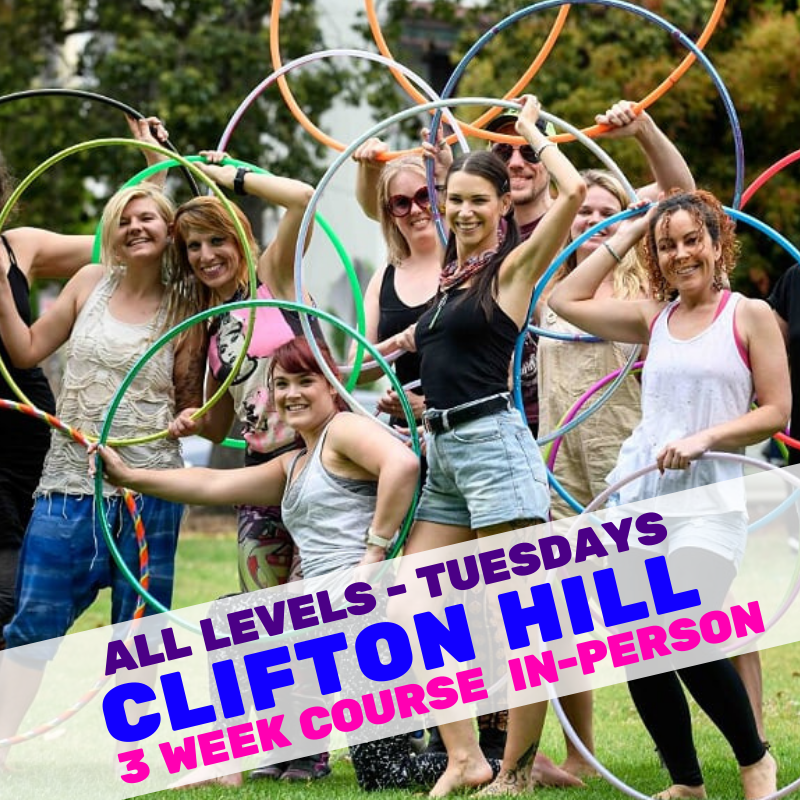 Hula Hoop Course Clifton Hill | Hoop Sparx