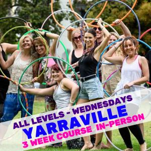 Yarraville Hula Hoop Course | Hoop Sparx