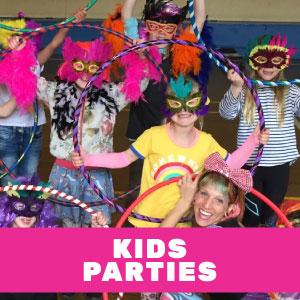 Kids Hula Hoop Parties | Hoop Sparx