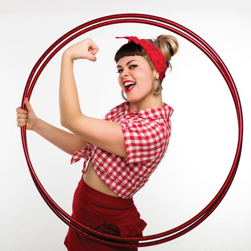 Hayley Hoopla - Hoop Away Retreat Instructor   Hoop Sparx
