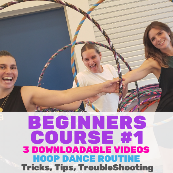 Beginners Course #1 Download Hula Hoop Course | Hoop Sparx