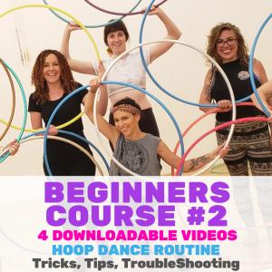 Beginners Course #2 Download Hula Hoop Course | Hoop Sparx