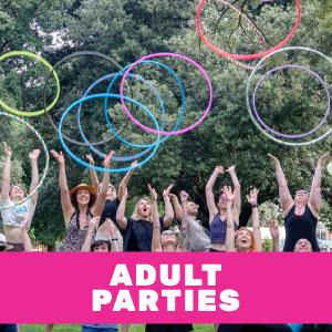 Adult Hula Hoop Parties - Hen's entertainment  Hoop Sparx