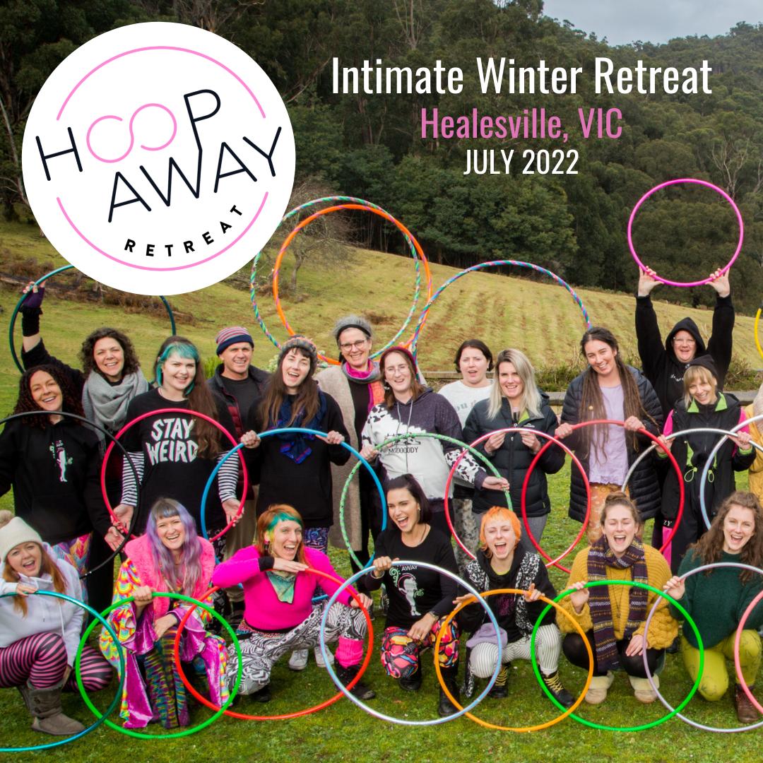 Hoop Away Retreat Winter July 2022