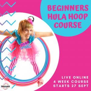 Beginners Hula Hoop Course - Live Online in Lockdown